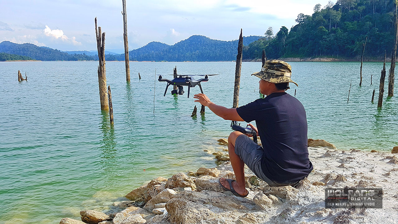 We send our drone off to shoot aerial videos of Royal Belum Forest Reserve