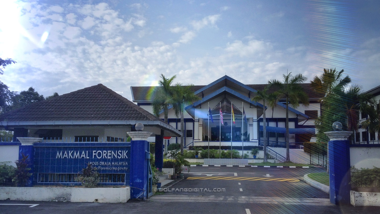 Our Edius Video Editing Course was held at the Makmal Forensik (Forensics Lab), next to Maktab Polis Diraja Malaysia.