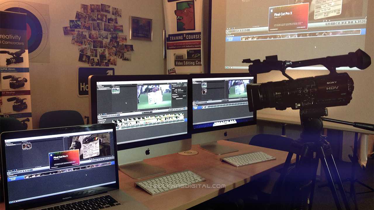 All set to teach you Final Cut Pro X, taught by Apple Certified Pro.