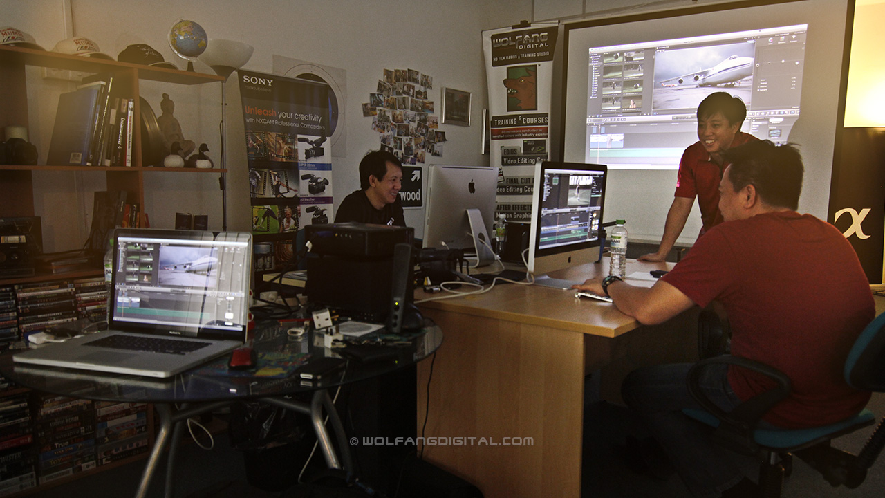 Al Jazeera News Network attends our FCP X video editing course
