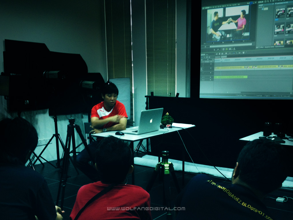 The class ended with a short demo on film editing with Edius Film Editing Software.