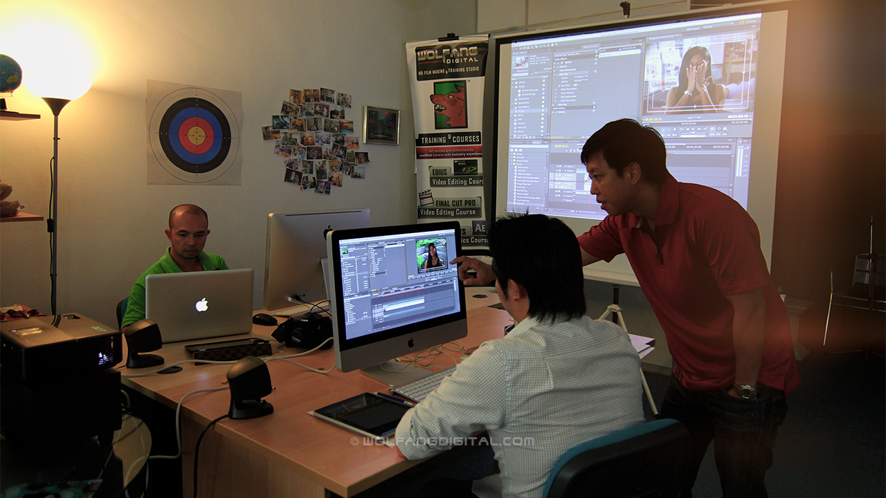Private Premiere Pro course for Celcom Axiata by WolFang Digital