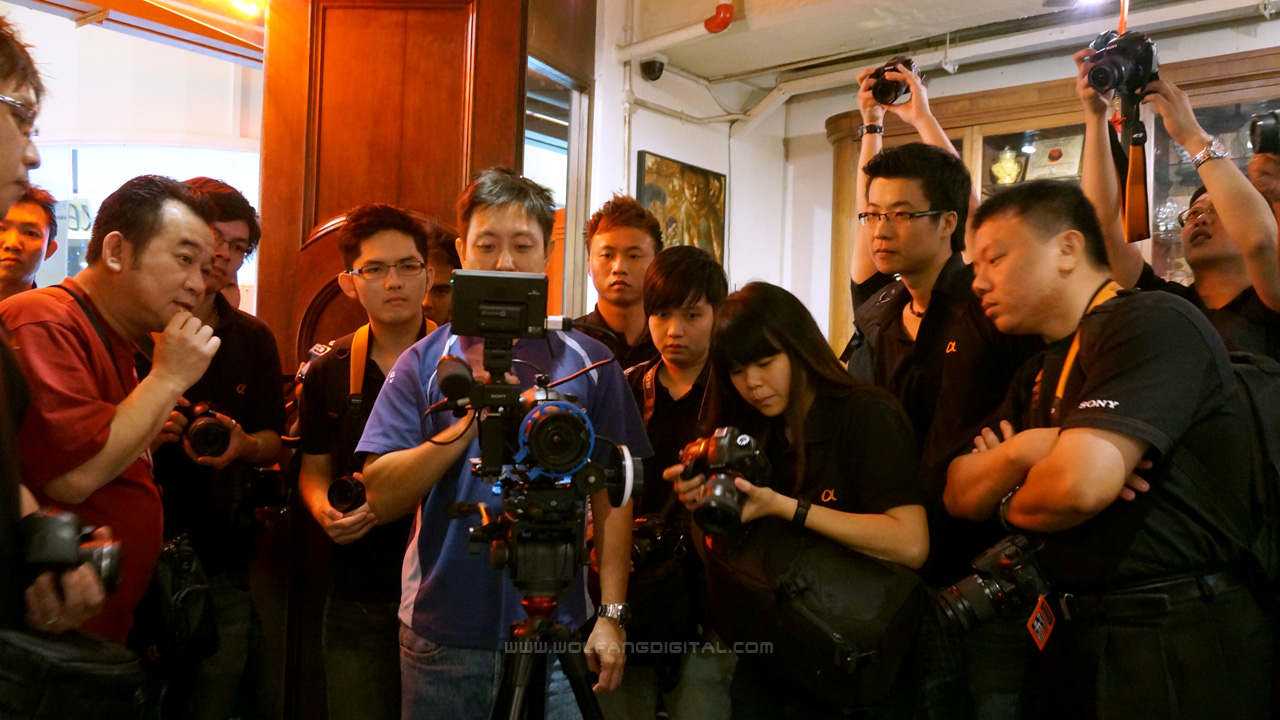 Sony Pro Trainer, Baron, also teaches all of Sony Malaysia's video workshops.