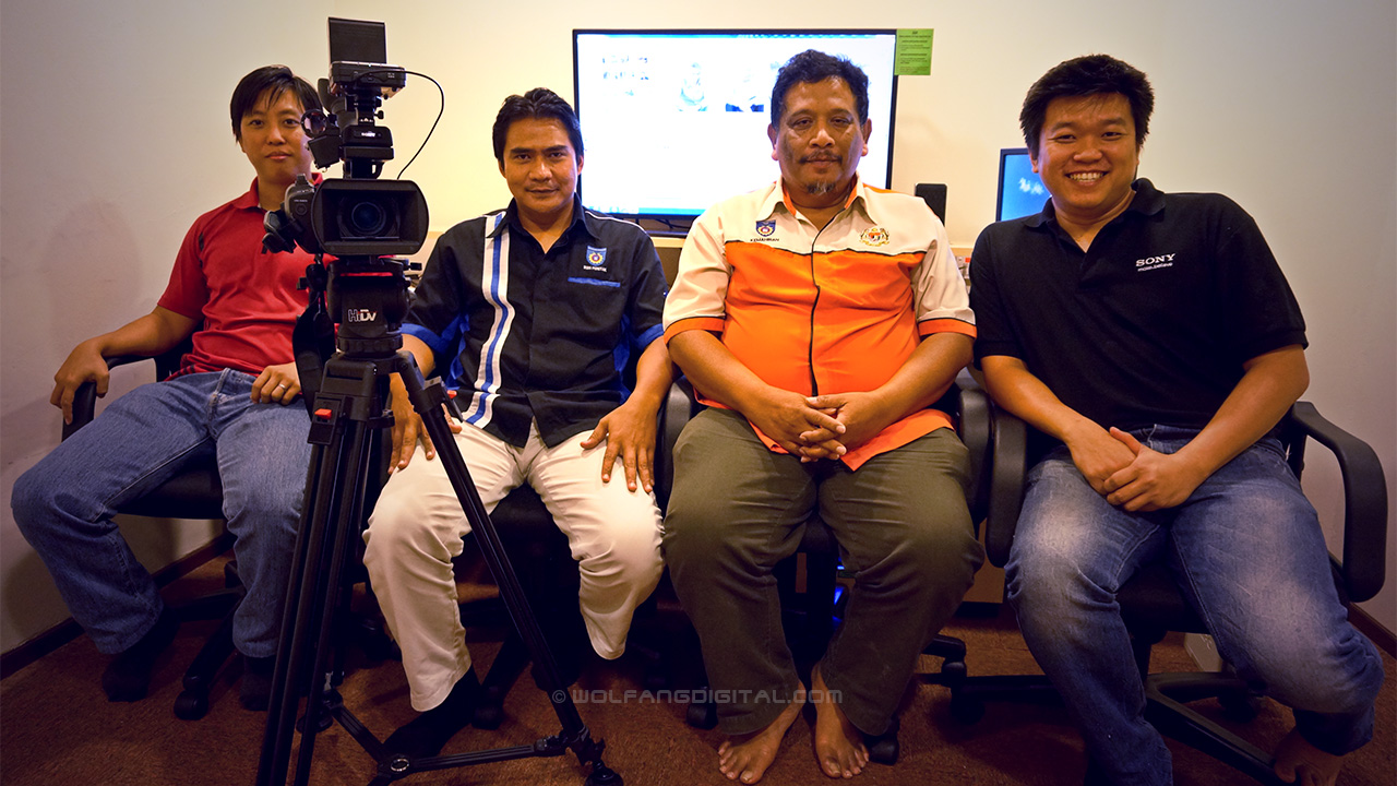 Lecturers from Institut Kemahiran Belia Negara graduate from our Sony Vegas Pro class