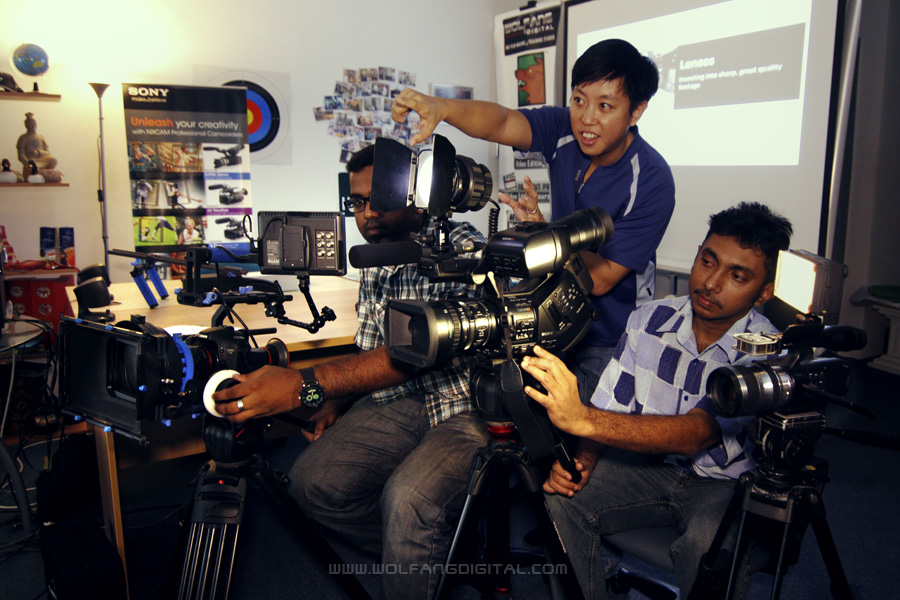 Learn how to shoot professional quality videos. Sign up for Videography Courses by WolFang Digital