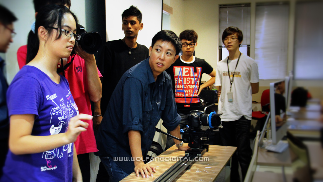Learn film directing and video shooting from experienced professional film directors.