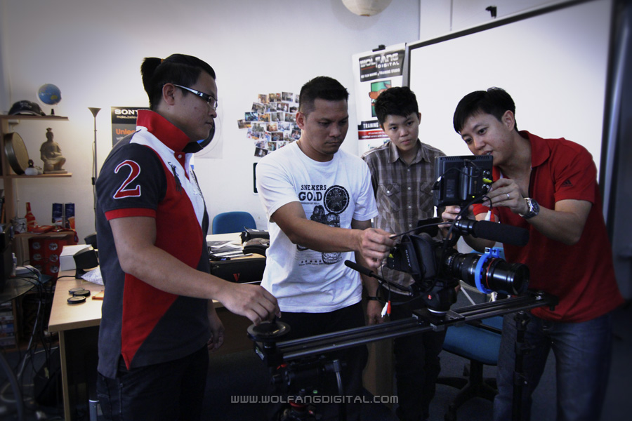 Novice, Intermediate, Advanced Videography Courses by WolFang Digital.
