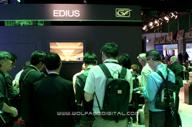 These folks are from Japan. Edius has its origins from Japan, after all.