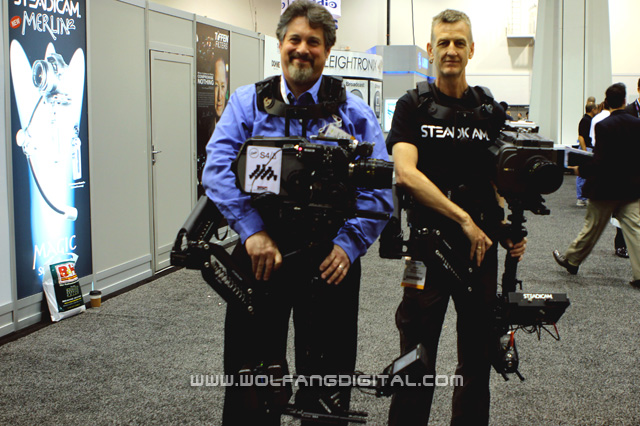 Peter Abraham (Director of Technical Services) and Chris Fawcett (Steadicam Operator, Instructor)