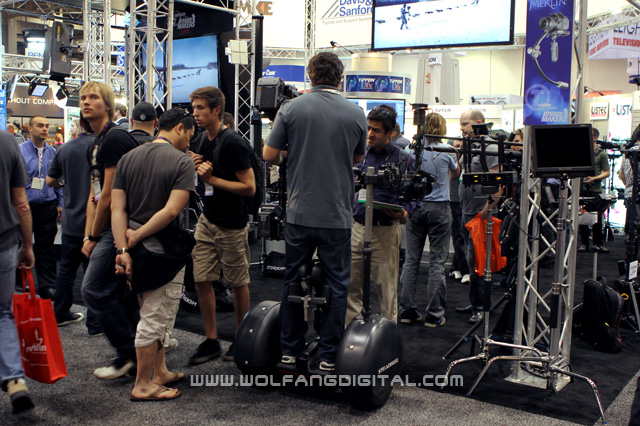 Give your legs (and shoulders, and back) a break. Get the Steadiseg for your Steadicam work!