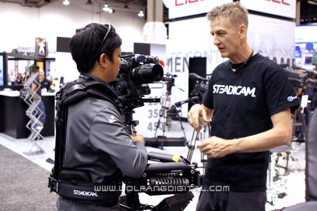 Chris Fawcett is the inventor of the Fawcett Exovest.