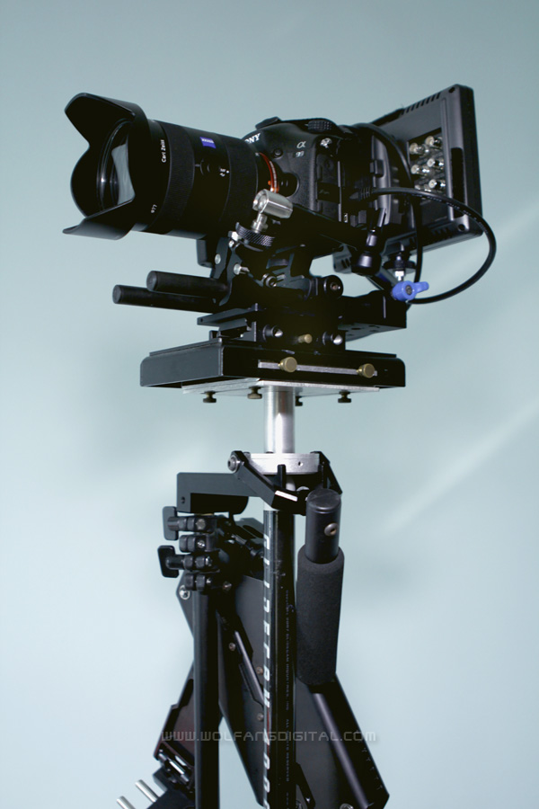 Our Sony SLT A99 on a Glidecam 4000 Smooth Shooter will be used extensively to give viewers an immersive experience.