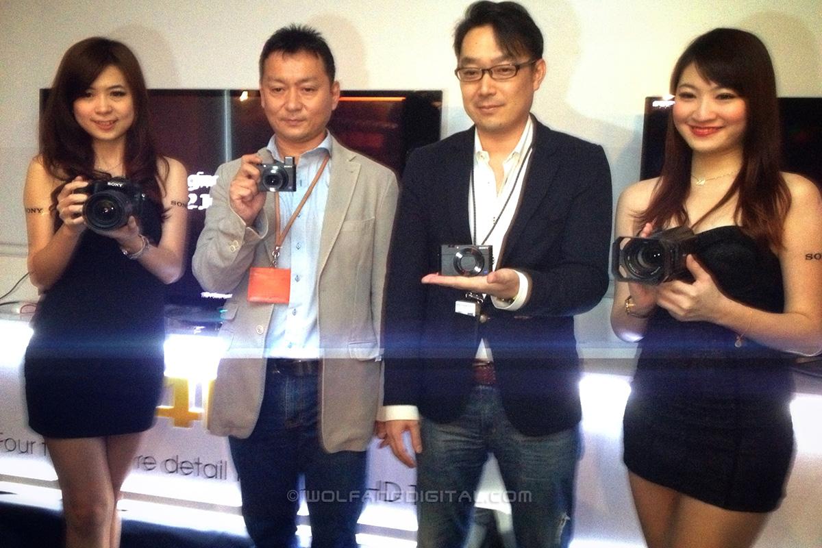 (L) Hatano Satoshi (Managing Director, Sony Malaysia) (R) Hideyuki Wada (Head of Marketing)