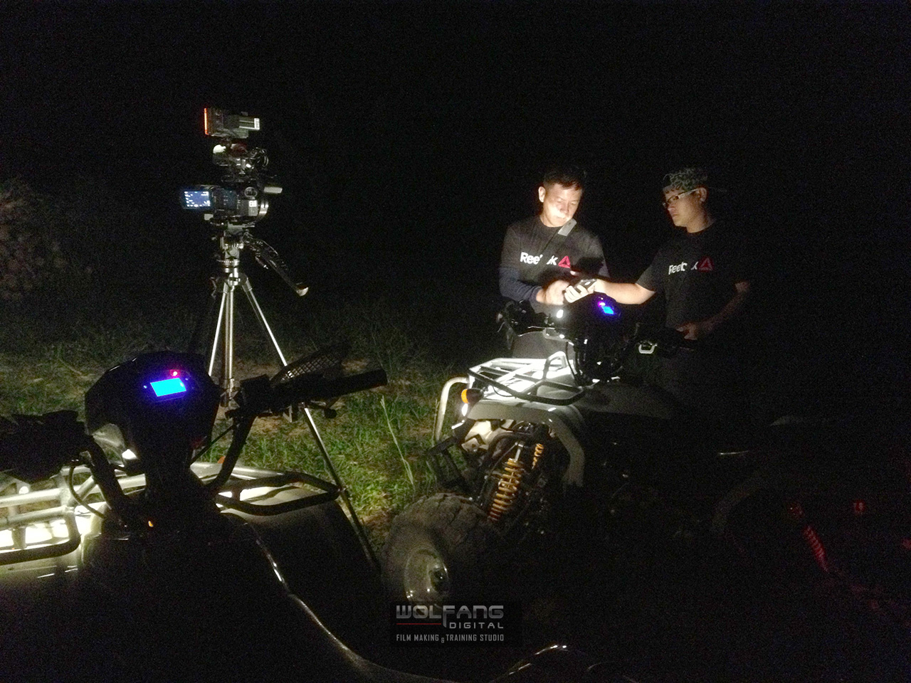 Shooting 4K videos in near total darkness with the sony ax100 and z96 led