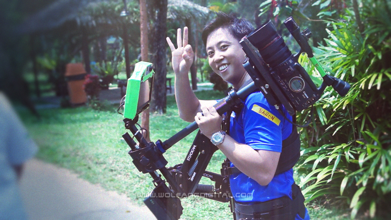 Baron is Certified Steadicam operator Malaysia