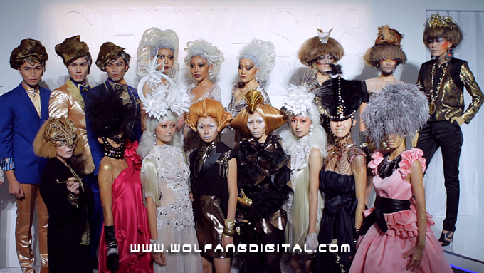 The work of fashion stylist Chris Yong and the creations of Beatrice Looi, Ian Chang, Joe Chia, Jovian Mendagie, Khoon Hooi & Michael Ong inspired by Christian Lacroix