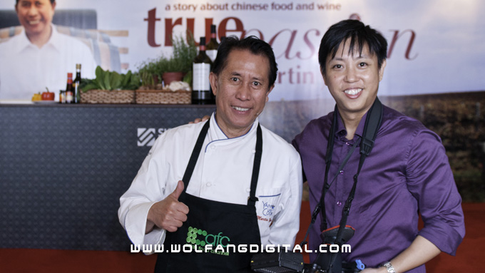 WolFang Digital- official videographers for Martin Yan True Passion by Jacob's Creek.