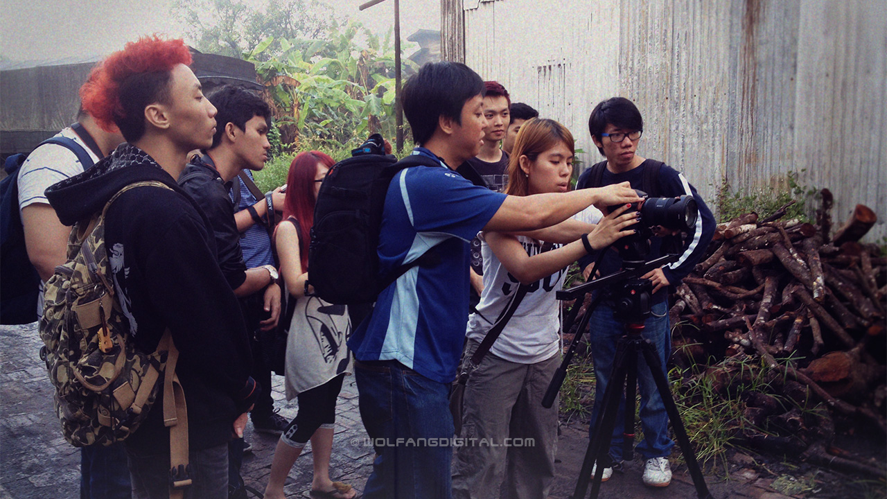 Videography students field trip to Kuala Sepetang