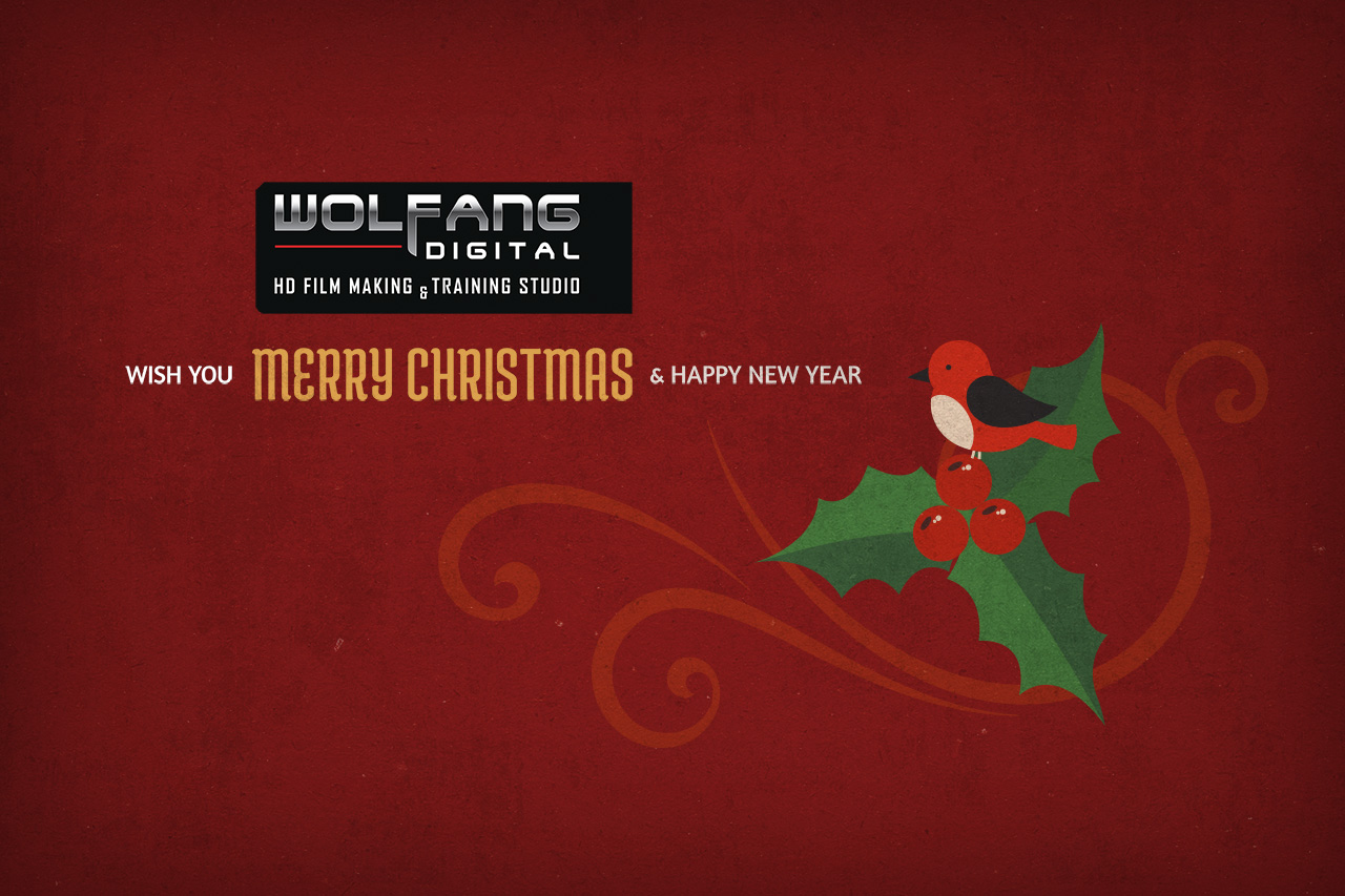 Merry Christmas from WolFang Digital