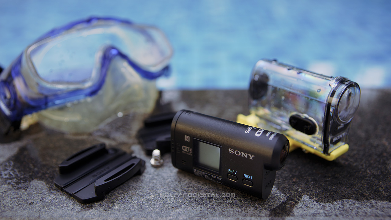 Sony Action Cam workshop by WolFang Digital