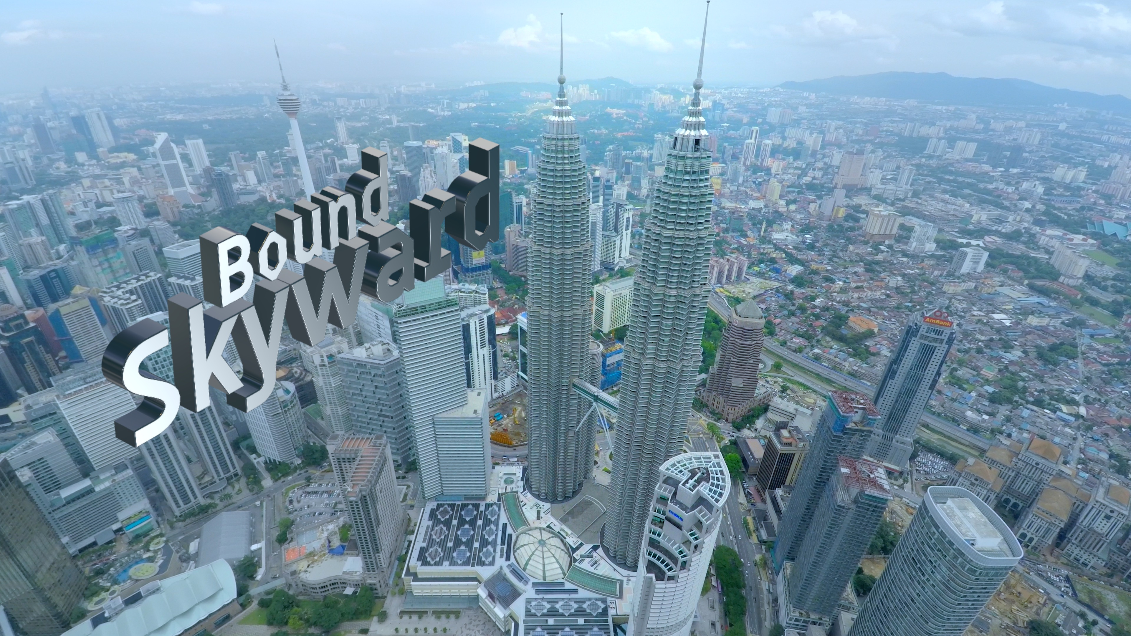 Petronas Twin Towers aerial video services by WolFang Digital