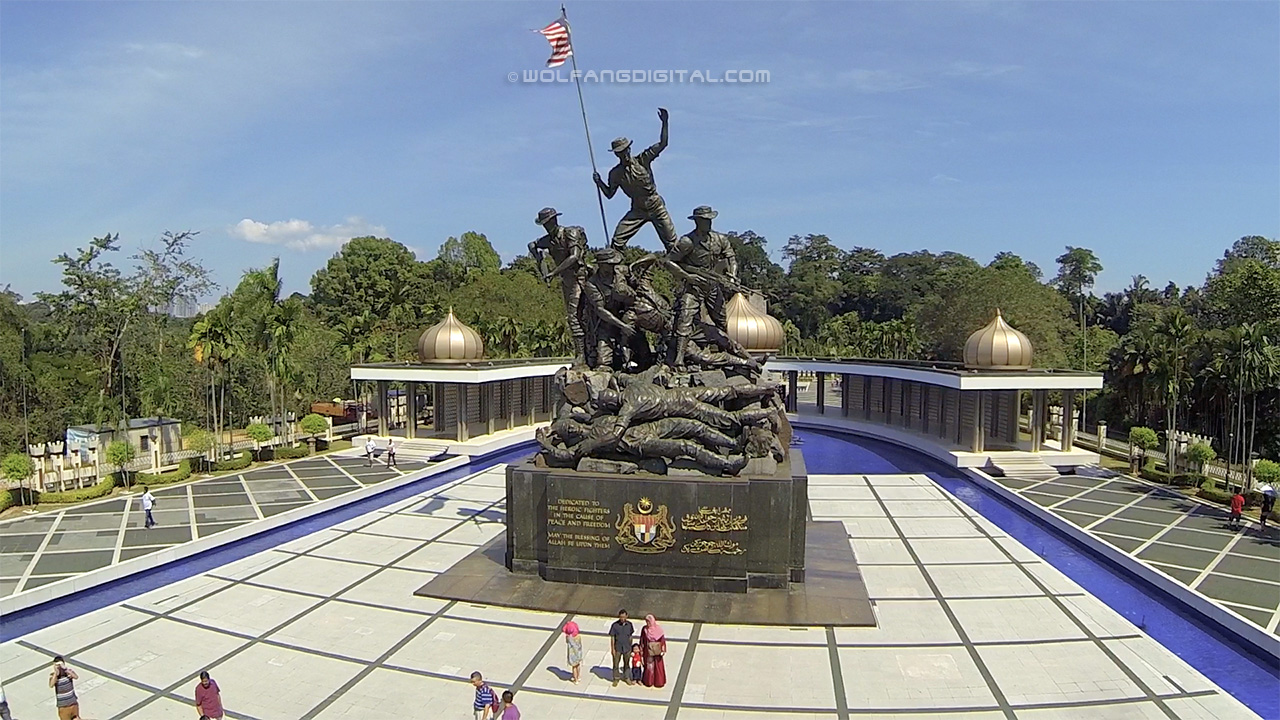 Aerial Photo of Tugu Negara National Monument