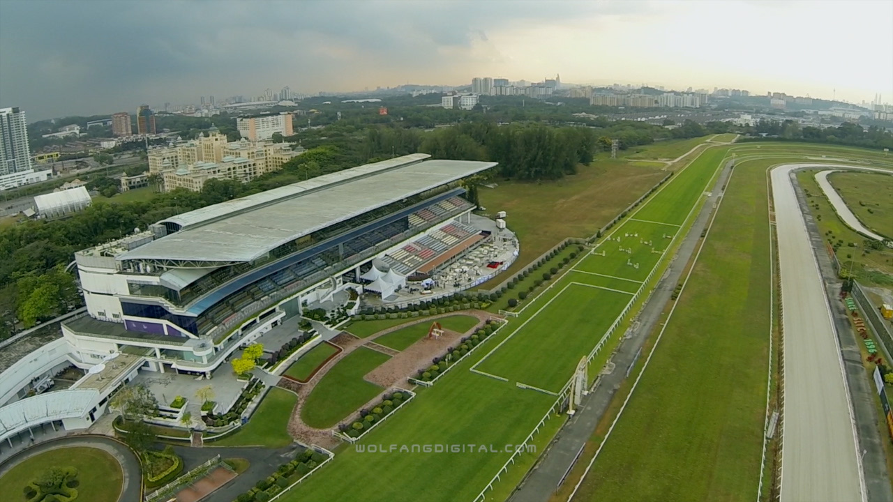 Aerial view of Selangor Turg Club by WolFang Digital
