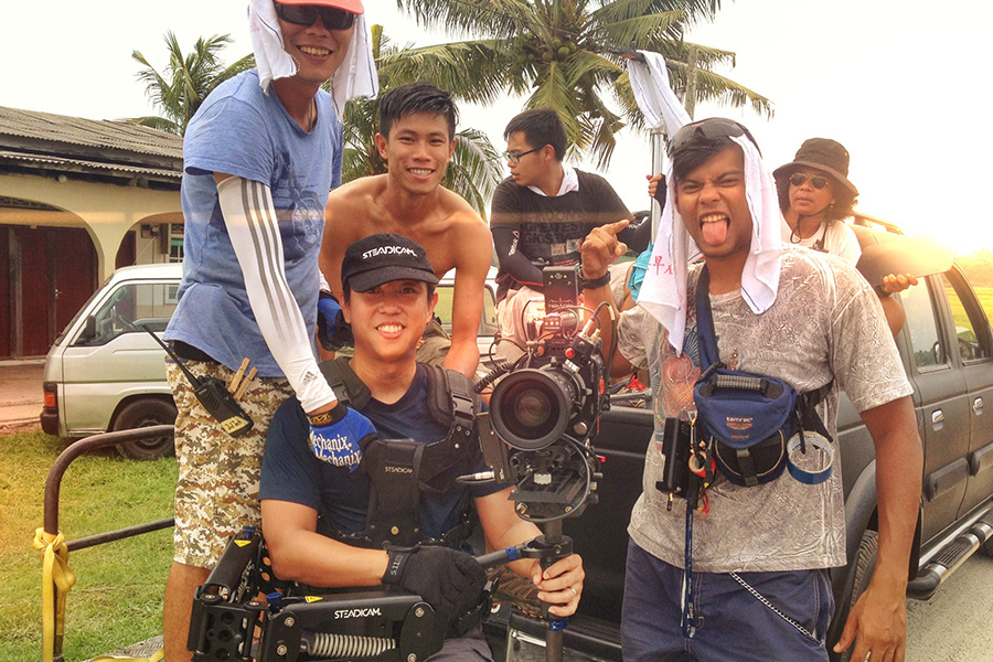 Steadicam Operator for Malay movie Kelip Kelip