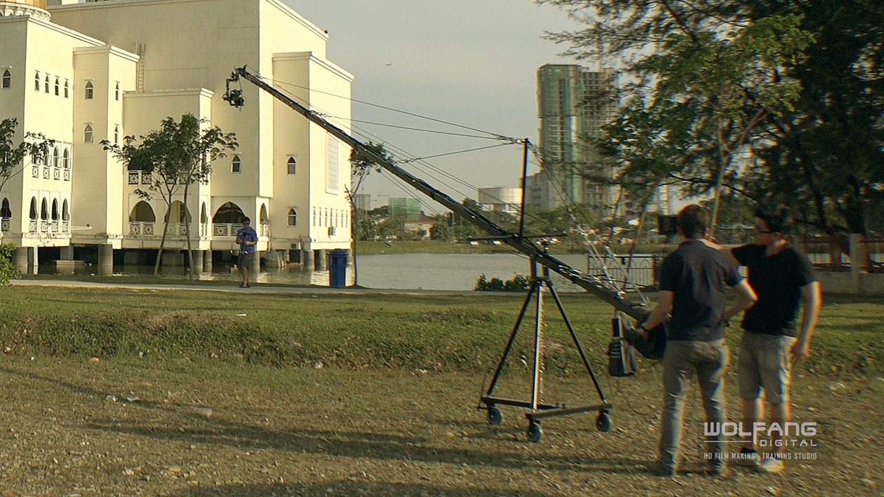 32 feet jib crane for event videos, corporate videos