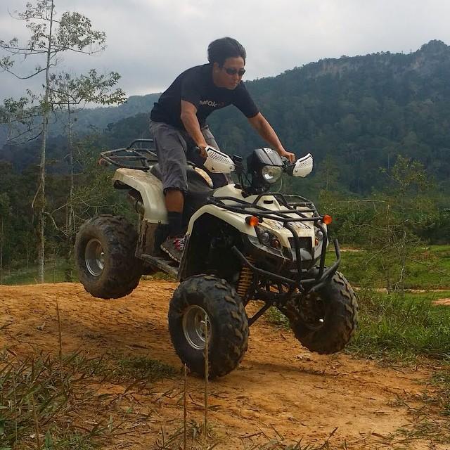 Film hard, play hard #kampungquest #realityshow #adventure #tvshow #atv #malaysia #goprohero3