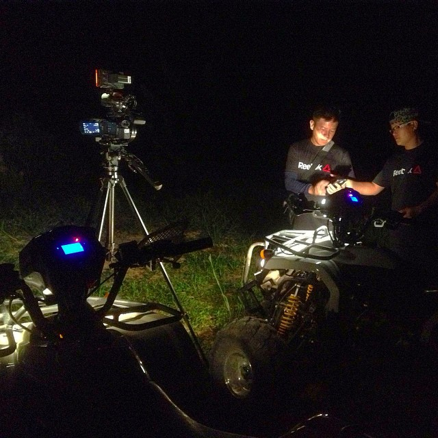 It's a test of our lighting skills as most times we film outdoors at night in near total darkness #kampungquest #cinematography #cinematographers #adventure #realityshow #filmmaking #filmlife #onlocation #onset #atv #sony4k #sonyax100 #4k #uhd