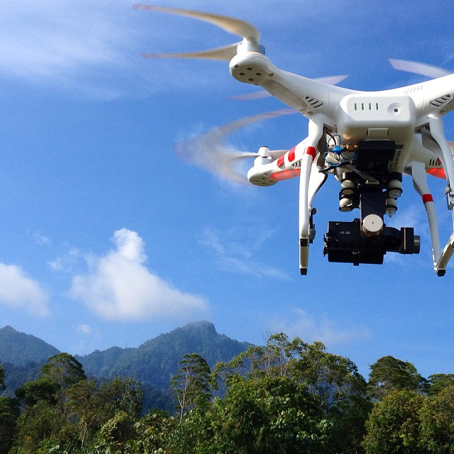 Drone away! Filming part of the Serapi mountain range in #4K #wildlife #documentary #filmmaking #drone #dronie #gopro #hero4 #goprohero4 #aerialvideography
