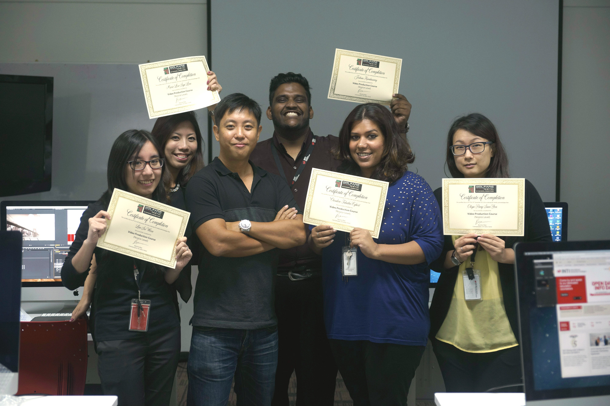 Videography Course for Inti International College