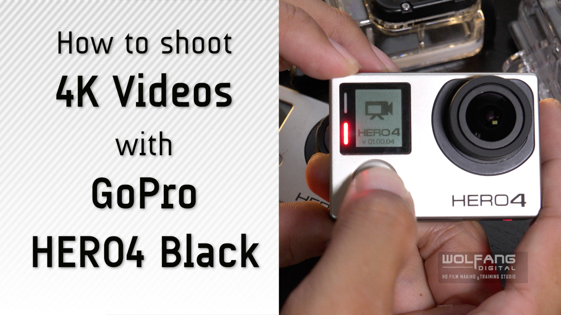 Learn how to shoot 4K videos with GoPro Hero4 Black