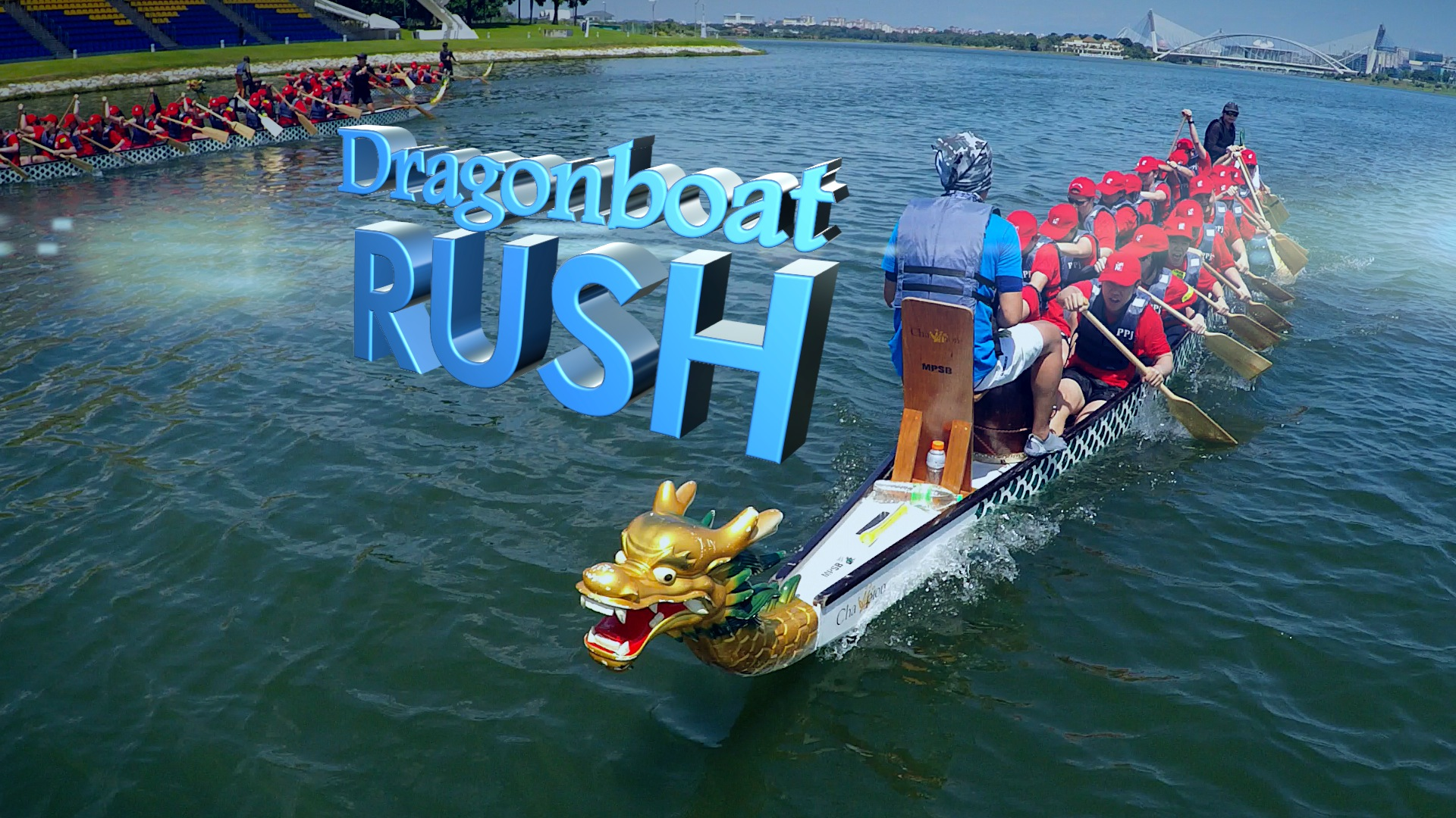 Aerial videos Malaysia- Dragonboat Rush by WolFang Digital