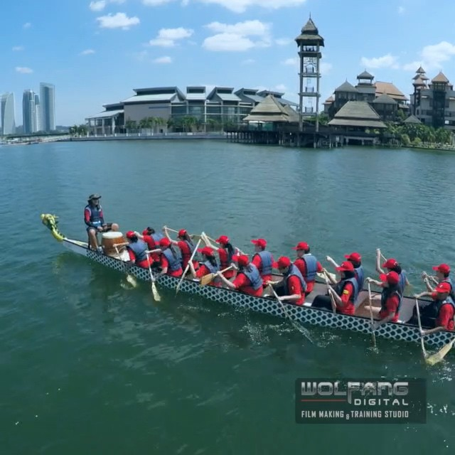 Faced our greatest #aerial_shooting challenge in this video with sustained flights over water, tracking speeding subjects and a narrow landing platform. Full video in our IG profile #dronestagram #dronevideos #goprotravel #djicreator #aerialvideo #gopro #filmmaking #malaysia #droneoftheday #uas #phantom2 #djiglobal #goprohero4 #aerialcinematography #cinematography #quadcopter #hero4black #aerial