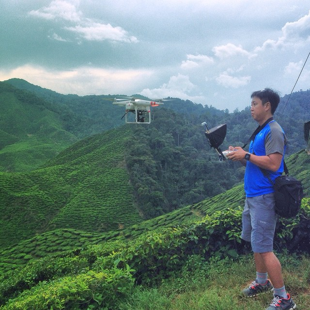Covered 600 kilometers in a single day from the city to Penang and to the highlands for Dutch reality show Peking Express #aerialfilming #aerialvideo #dronelife #dronevideo #malaysia #djimoment #filmmaking #cameronhighlands