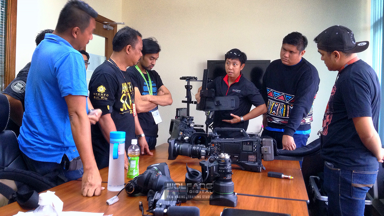 Conducting Steadicam training for TV3 Malaysia