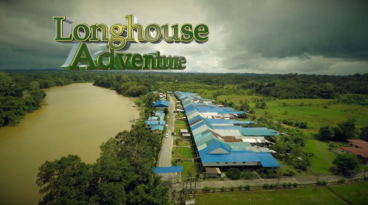 Borneo Sarawak Longhouse Adventure- Aerial Video Services Malaysia