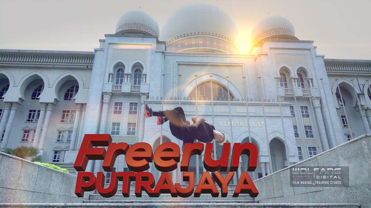 Slow motion parkour with Red Bull Abudi Alsagoff