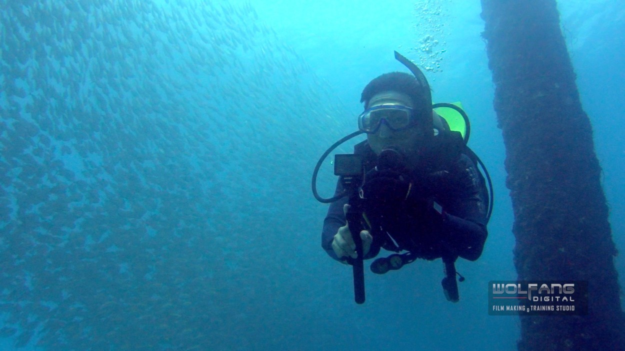 Underwater Scuba videography with Baron Abas and Sony Action Cam