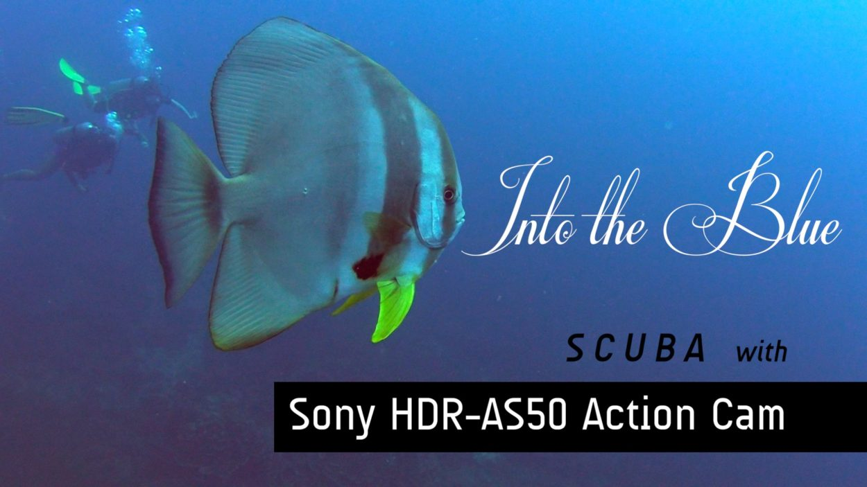 Into The Blue- Scuba diving video by Baron Abas with Action Cam AS50