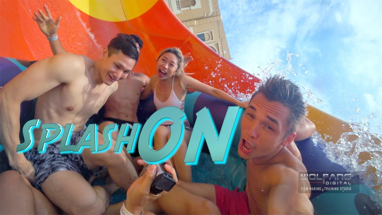 Join us in an adventure at a water theme park with the Sony Action Cam X3000