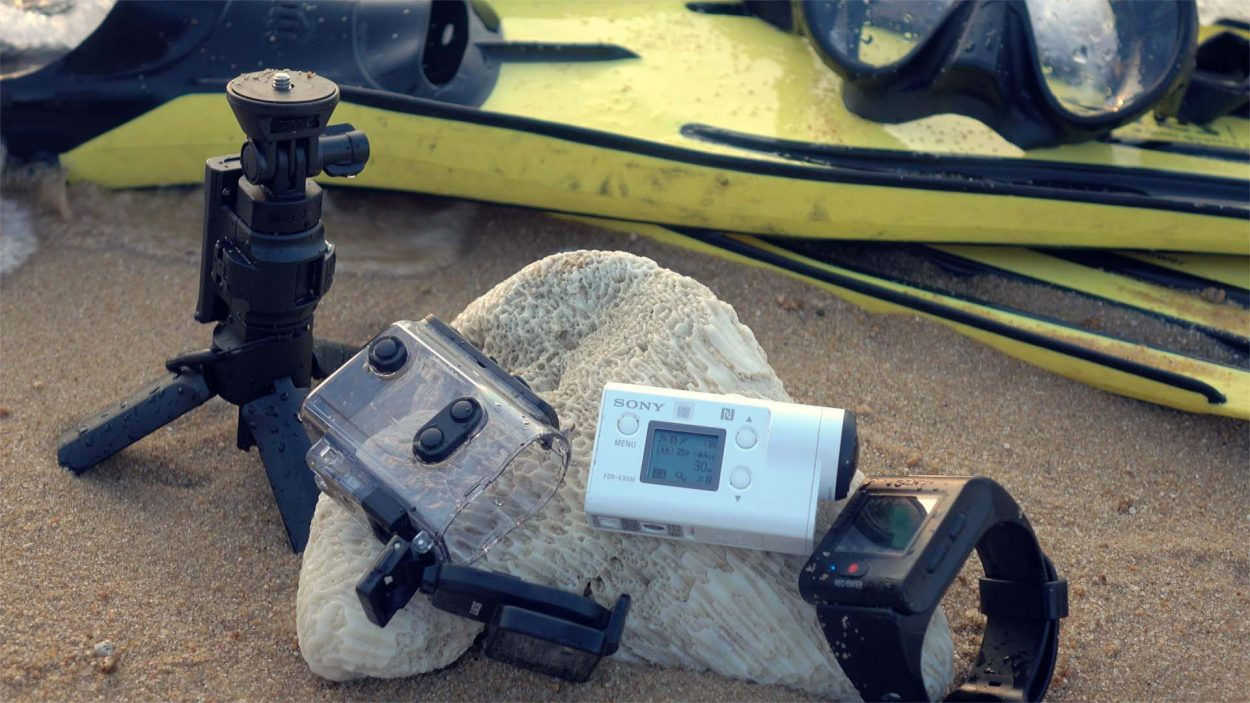 Scuba diving videos with Sony Action Cam FDR-X3000