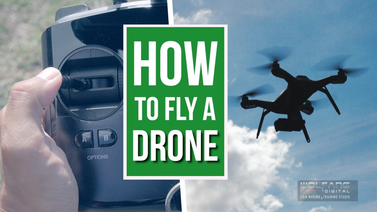 How to fly a drone by Baron Abas of WolFang Digital