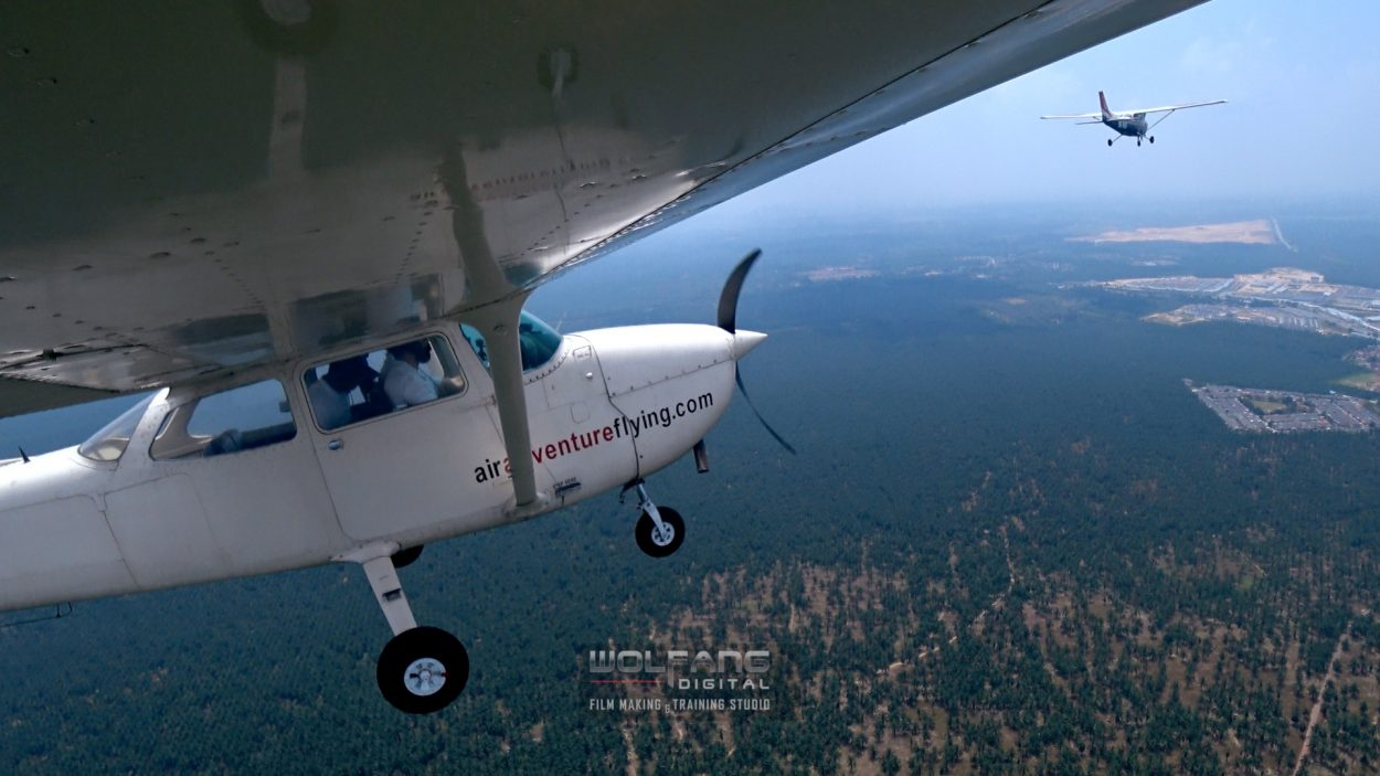 Cross country flying adventure with Cessna 172 Skyhawk