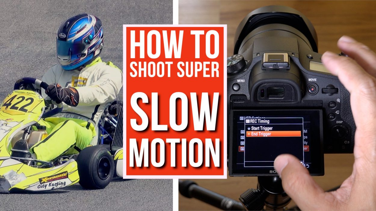 Tutorial: How to shoot super slow motion videos