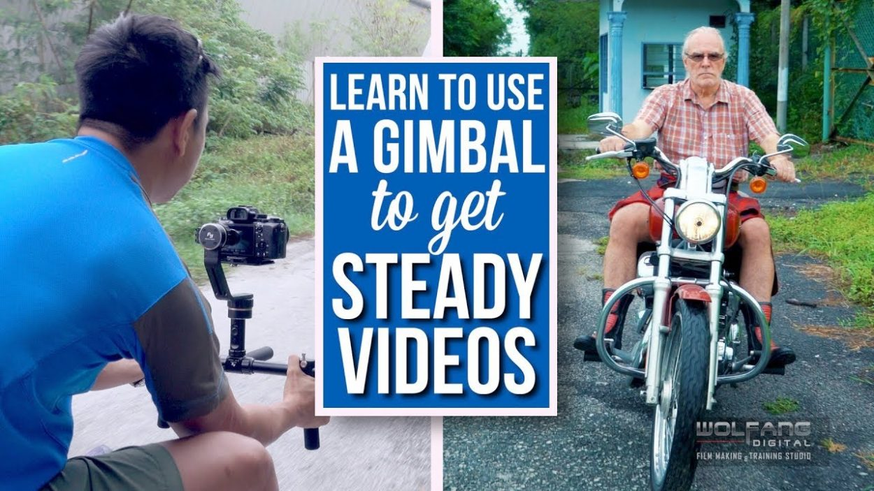 How to use a gimbal for steady videos #wolfangfilms