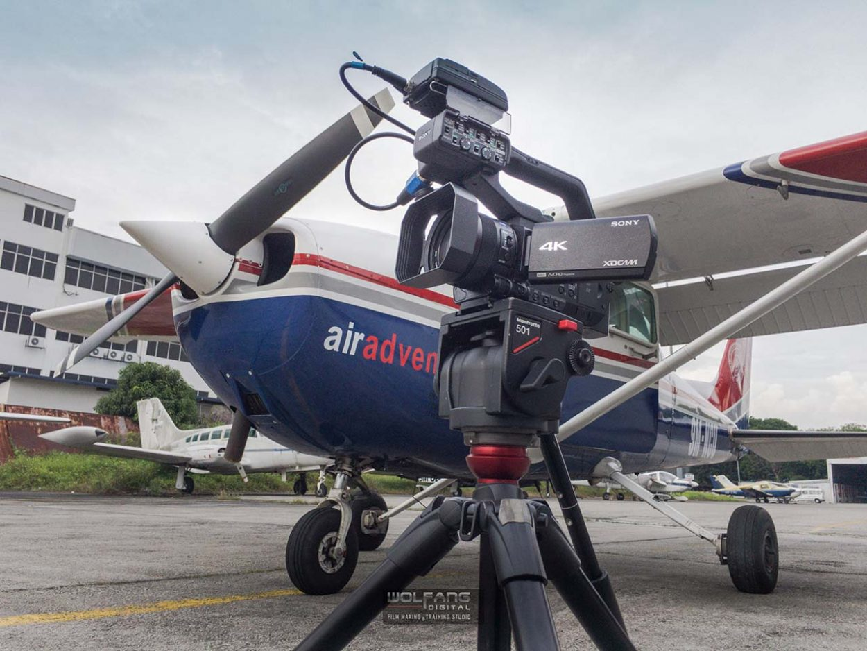 Taking the Sony PXW-Z90 to new heights in the Skyhawk