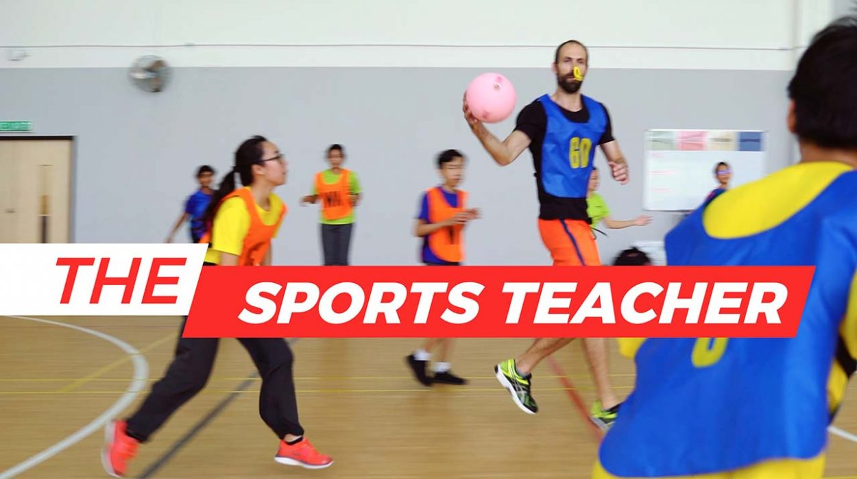 Sports Teacher of GEMS International School by WolFang Digital